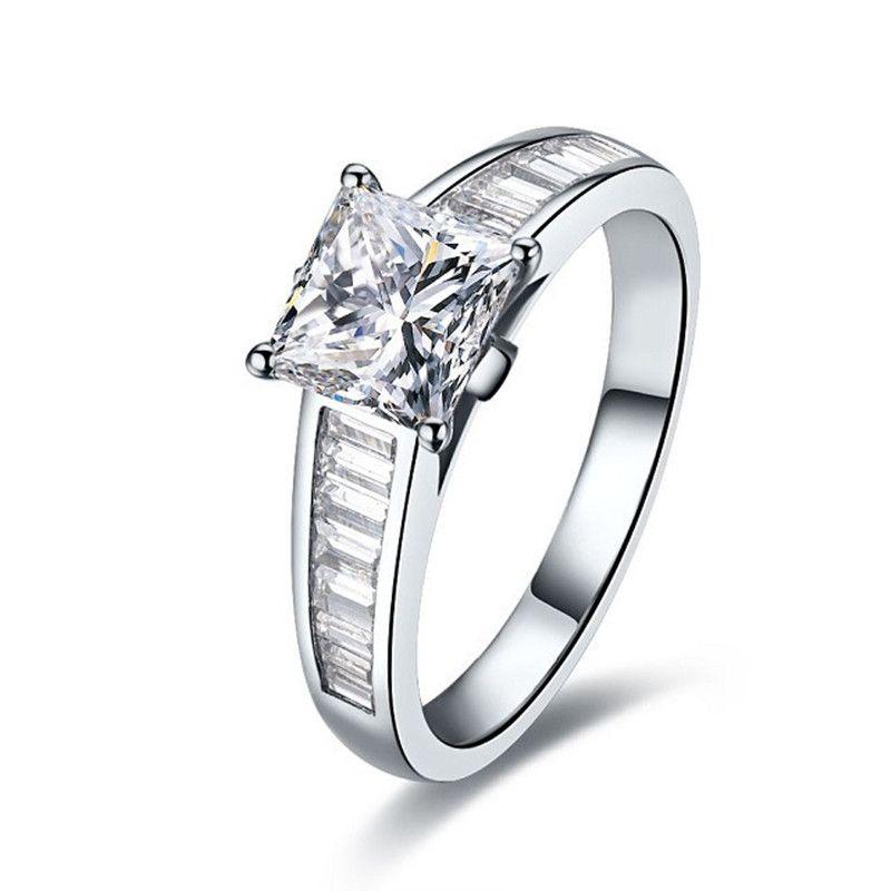 grandes marques Royaume-Uni meilleure vente Acquista Anelli Di Anniversario Elegante 2Ct Moglie Diamanti ...