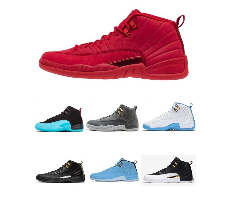506198aacee6 Top Quality 12 12s OVO White Gym Red Dark Grey Basketball Shoes for ...