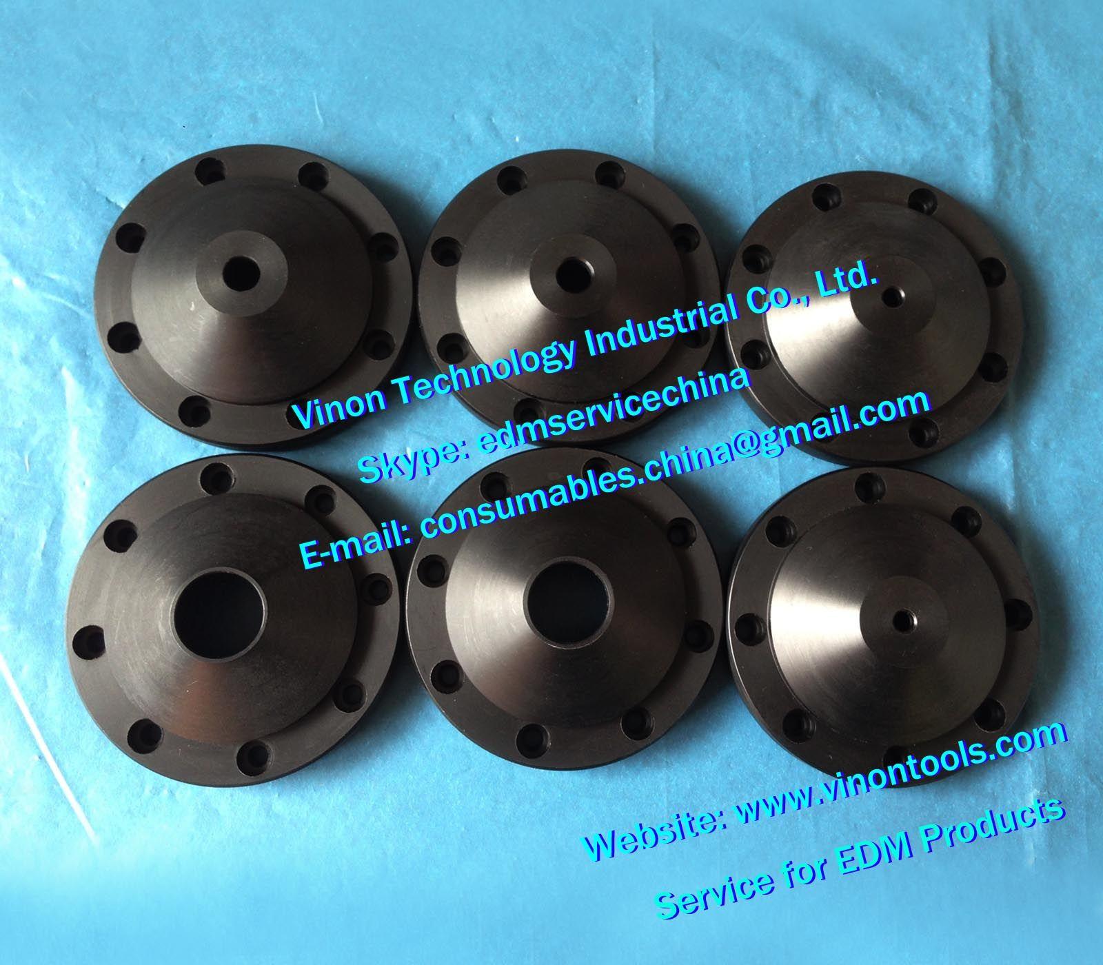 (5pcs) X186C793H01 d=4mm Fluhing Nozzle Upper M215, Flush cup Ø4mm  X186C793H02 for Mitsubishi BA24,BA8,FA,FX,PA (can mix dia  4/7/8/12/15mm)