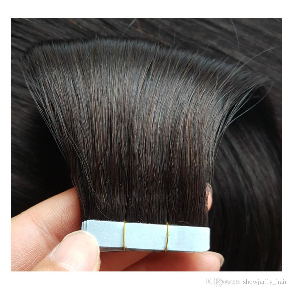 Wholesale Natural Color Invisible Tape In Hair Extensions African