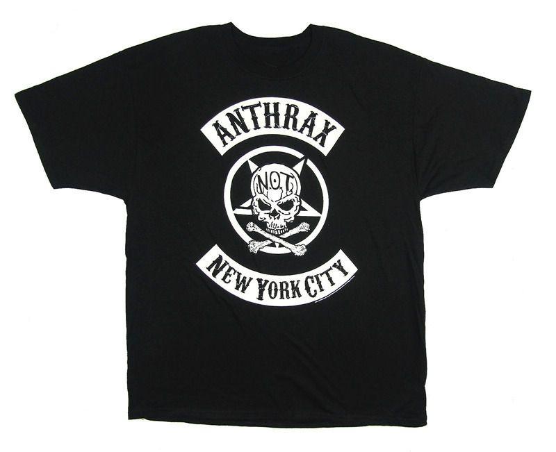 Custom T Shirts Cheap Anthrax New York City Nyc Not Skull Short Men Crew  Neck Fashion 2018 Tee Shirts T Shrt Fun T Shirt From Societhirty 3ce52567482