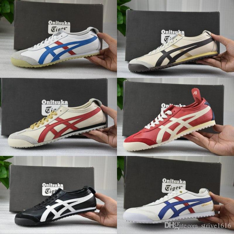 new product 49049 80827 Whosale Best Asics Onitsuka Tiger Running Shoes For men women Top Quality  Cheap Lightweight Online Sport Sneakers Eur 36-45