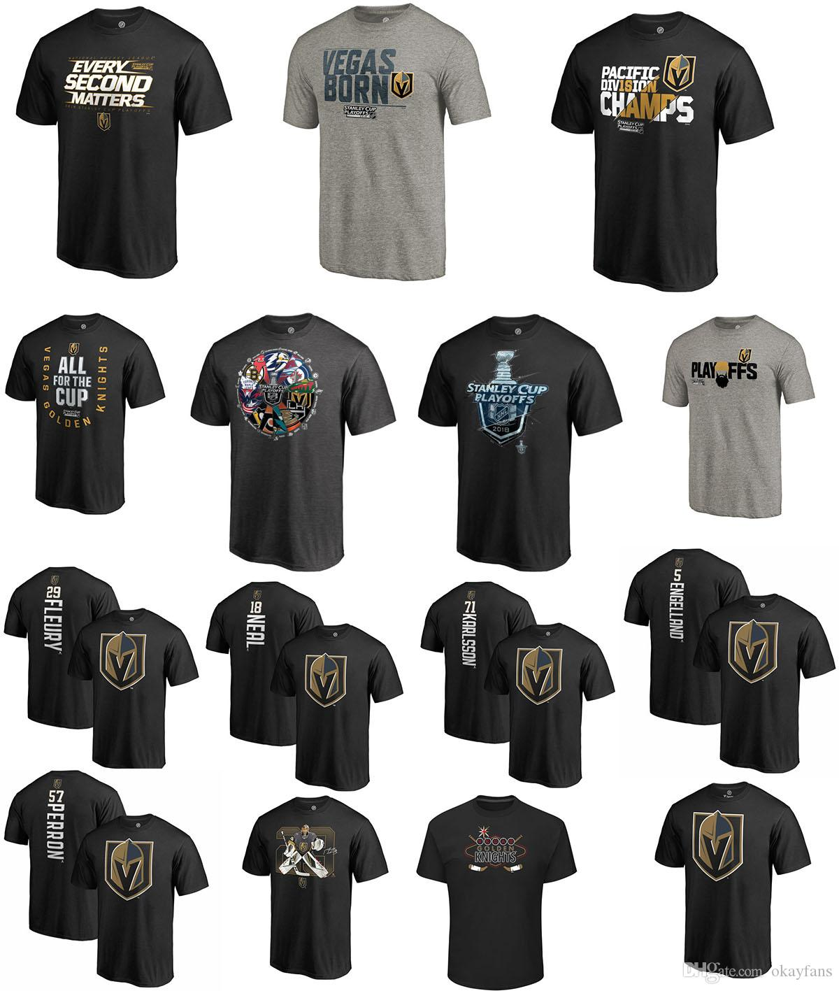 Nhl T Shirt Vegas Golden Knights 2018 Stanley Cup Playoffs Bound War ...