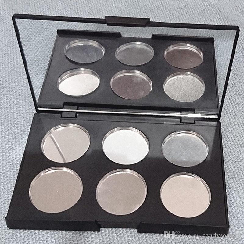 6 коробка тонера пластиковая коробка дозирования прижимной пластины помады тени для век 36.4 мм Диаметр макияж инструменты аксессуары F345