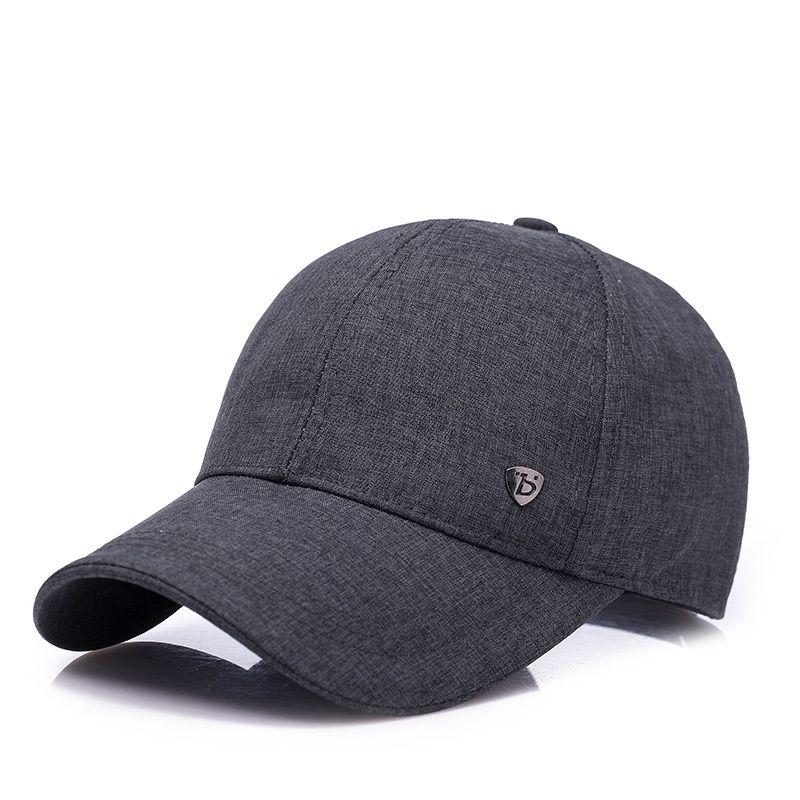dad hats 2018 men baseball hat summer cap hot sale cotton tricolour pure color business casual hat with adjustable size dad hats men cap baseball hat