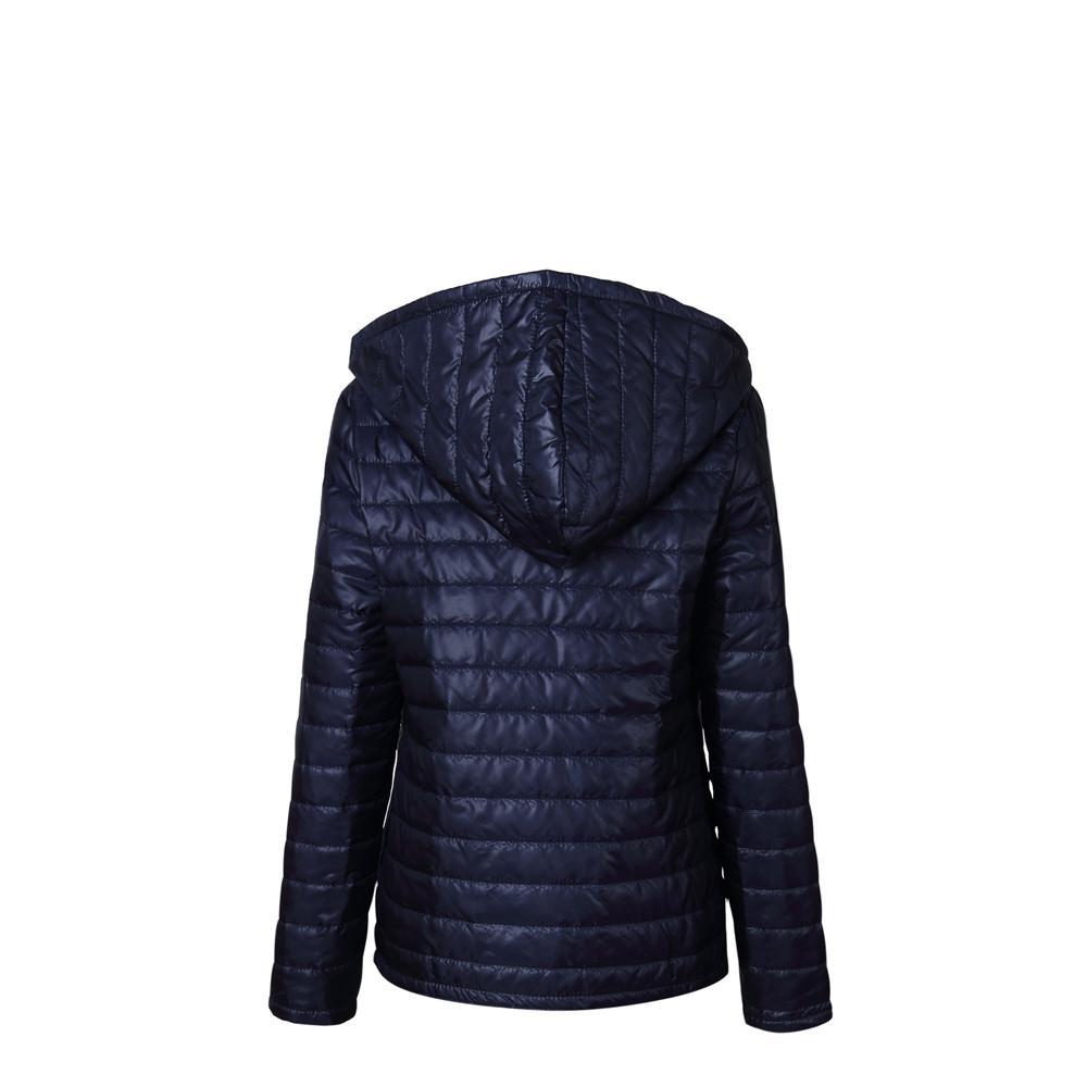 wholesale dealer 7e11d 49ccd Piumino ultralight donna Piumino invernale con cappuccio Donna Parka Zipper  Coats Plus Size XXXL Pink Black