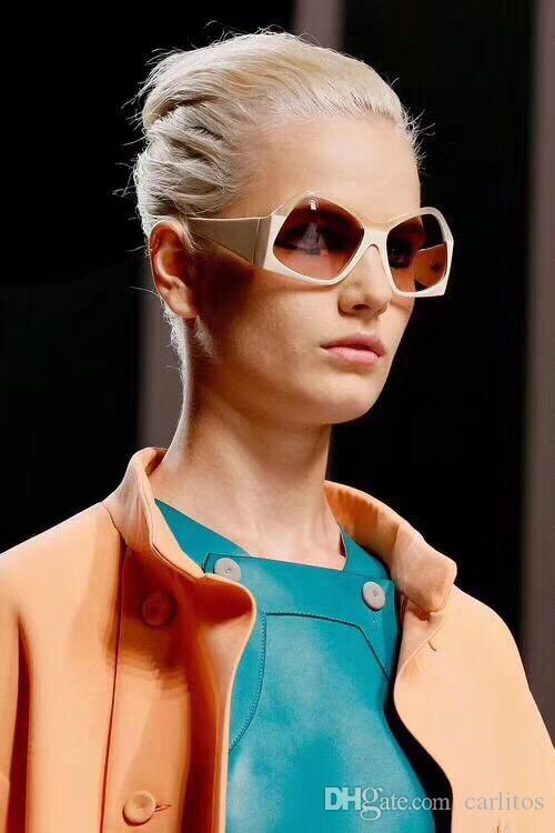 2040061eb6e Fashion New Luxury Sunglasses For Women S Brand Designer Popular Sunglasses  Retro Polygonal Frame Top Quality UV Protection 0037 Sunglasses Polarized  ...