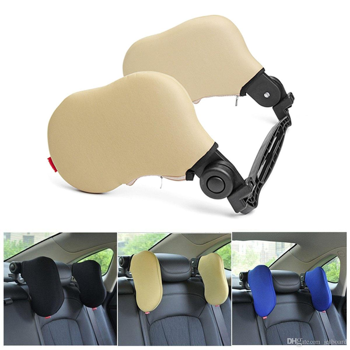 Outdoor Car Seat Headrest Memory Foam Pillow Head Neck Rest Support
