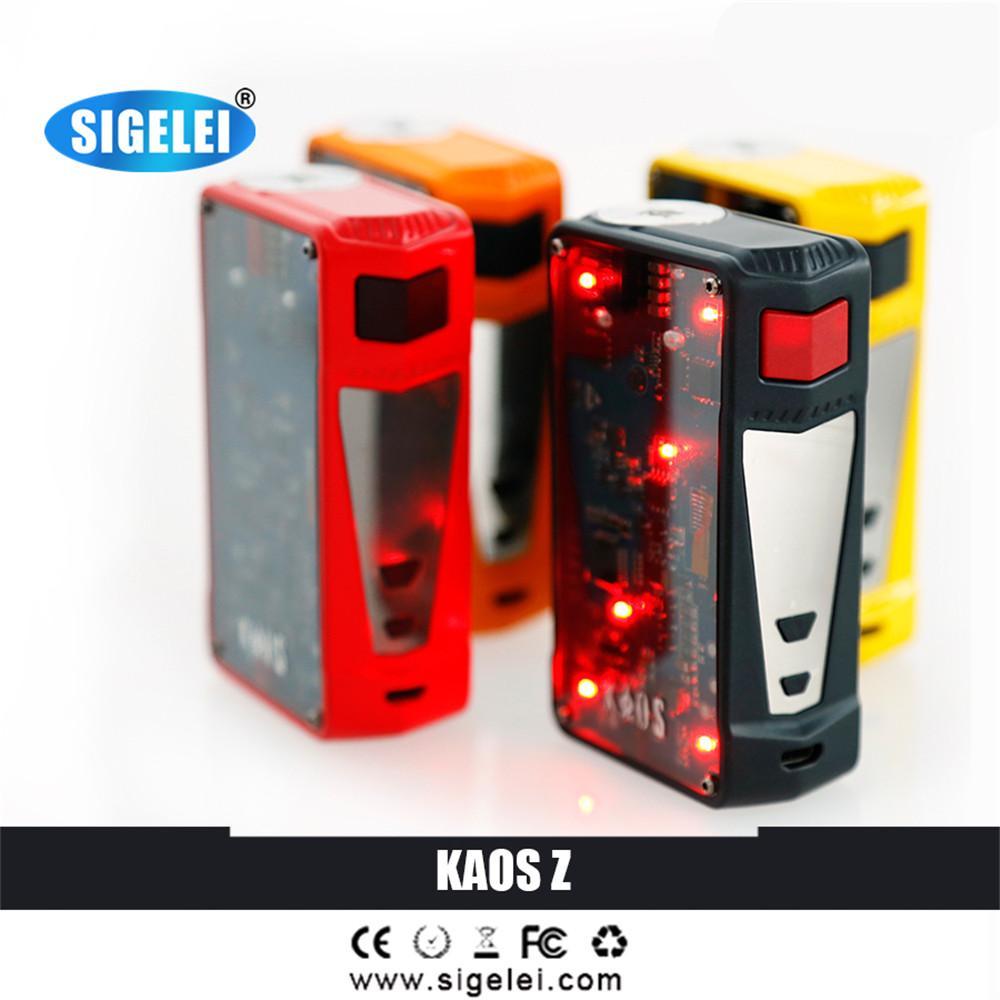 5f2db32392f90e Original Sigelei Kaos Z Vape Box Mod, 200W TC Box For Electronic Cigarette Vaping  Mods Best Vape Mod From Theresal, $125.87| DHgate.Com