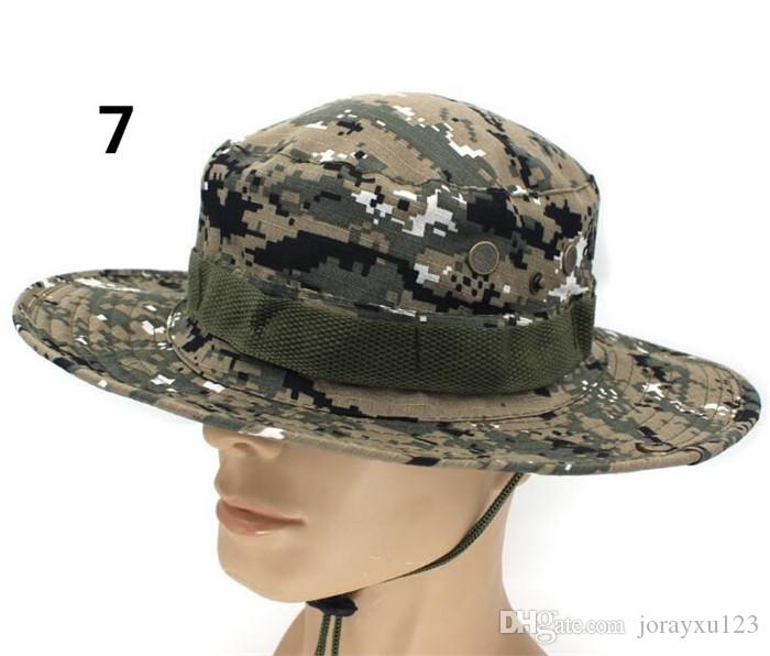 Tactical Bucket Beanie Hats Airsoft Sniper Camouflage Nepalese Cap Military Army American Military Accessories Hiking Hats J068