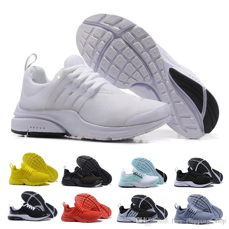 Rabatt Nike Air Presto Essential Trainingsschuhe Schwarze