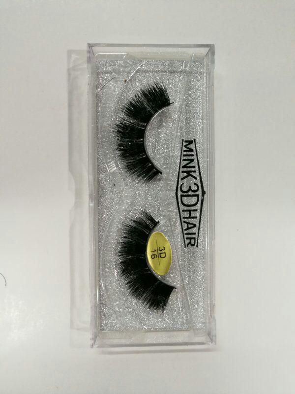 Professional 3D Mink Hair False Eyelashes Natural Long Thick Fake lashes 18 styles Brand New DHL Free YL004