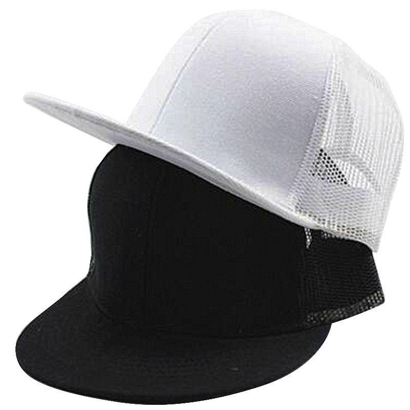 d5a76ab7097 New Spring Soild Cotton White Black Children Boy Girls Snapback Cap Hip Hop  Baseball Cap Flat Along Hats Outdoor Army Hats Custom Caps From Cfyh2018