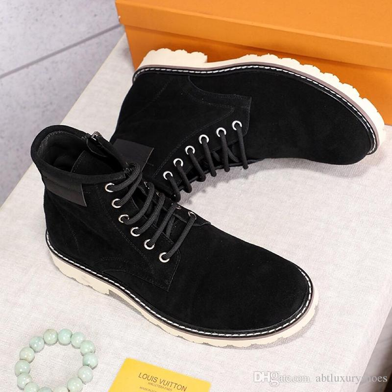 3cace53af570 Mens Boots Sneakers Boots High Top Ankle Boots Lace Up Genuine Leather  Bottes Pour Homme Casual Shoes Luxury Flat Heel Winter Fashion Sporto Boots  Boys ...
