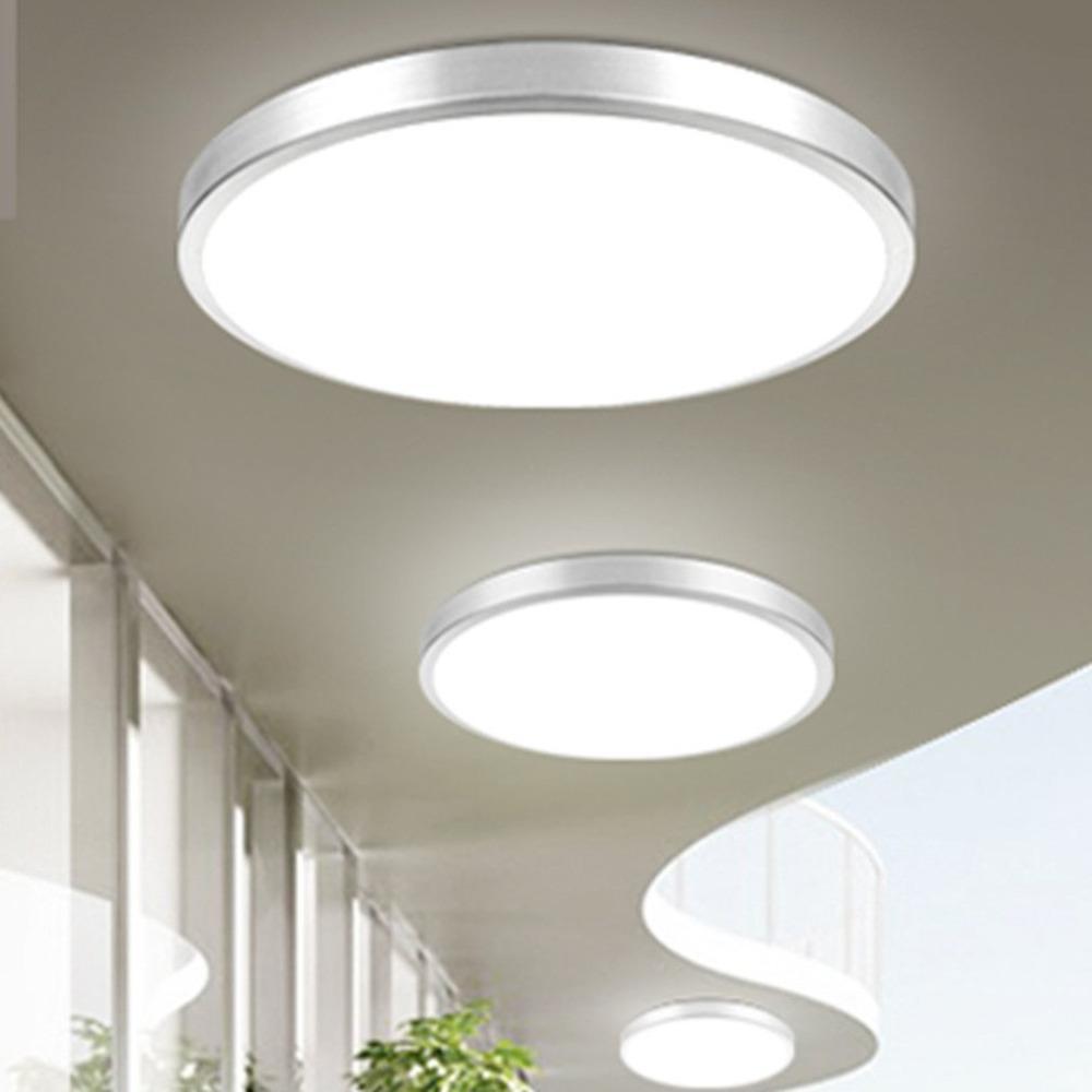 Acquista Lampada Da Soffitto A Led Rotonda Da 12w Design Semplice