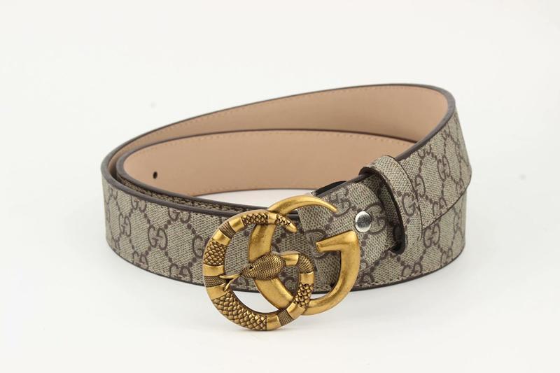 6e07d11ad51b1 2019 Big Large Buckle Genuine Leather Belt with Designer Belts Men ...