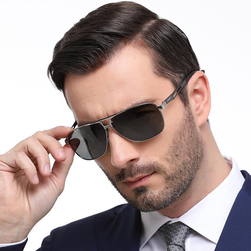 0b953de7ff99 Top Brand Designer Men Polarized Driving Sunglasses Vintage Outdoor Cool  Male Fishing UV400 Hot Rays Sun Glasses Spitfire Sunglasses Native  Sunglasses From ...