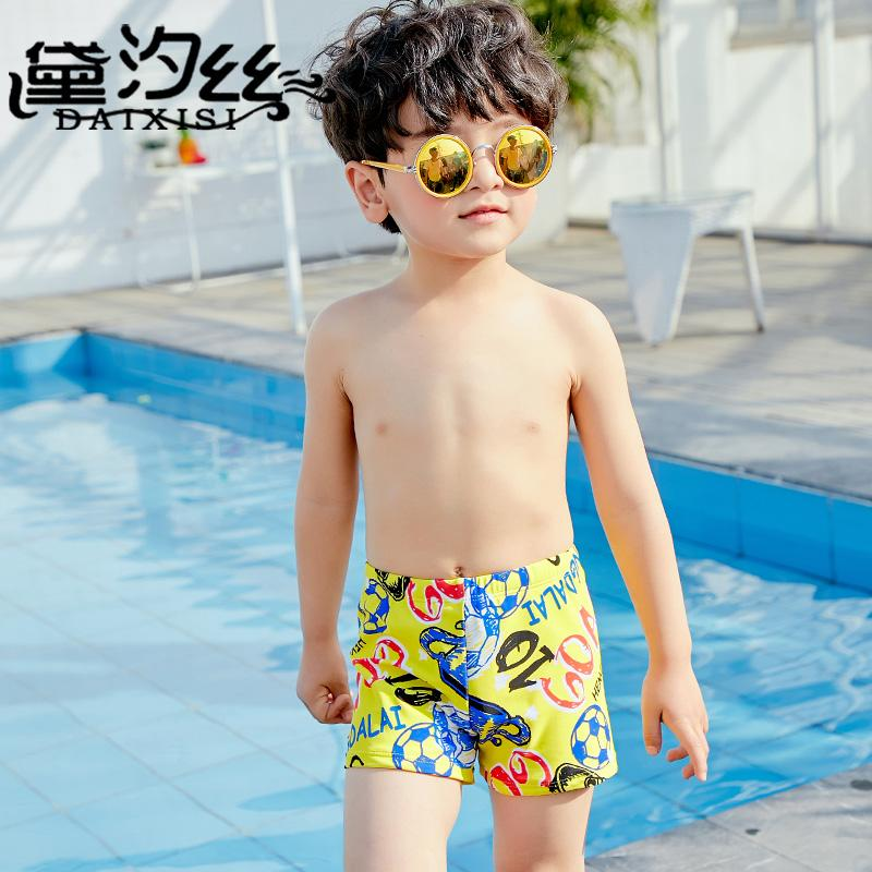 299800b6a 2018 New boys professional Swimming trunks Children Swimsuit Sport Boxer Shorts  Kids boy Quick Dry Men's Swim Shorts surfing