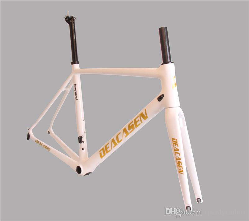 Großhandel 2018 Carbon Fahrradrahmen 980g Licht 3k Weave Fahrrad ...
