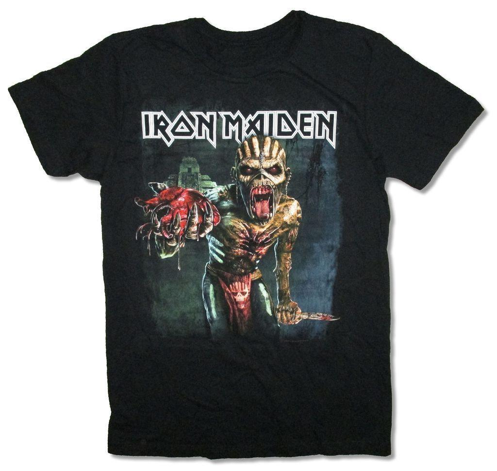 45afdb93a Iron Maiden Book Of Souls North American Tour Black T Shirt New Official  Merch Online with  12.99 Piece on Shirtifdesign s Store