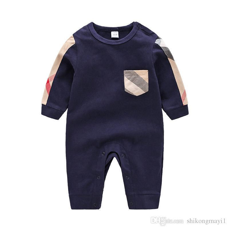 8f70fa09505 High Quality Baby Clothes Spring Summer Long Sleeved Cotton Romper ...