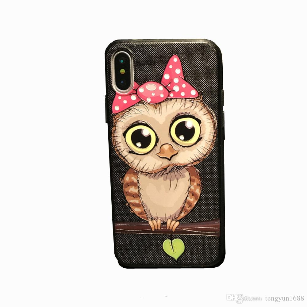 5efd89751a Couple For IPhone X Case,Cute Cartoon Boy Creative Text Soft Silicone Phone Cover  Case For IPhone X Girls/Boys Style Make Your Own Cell Phone Case Cell ...