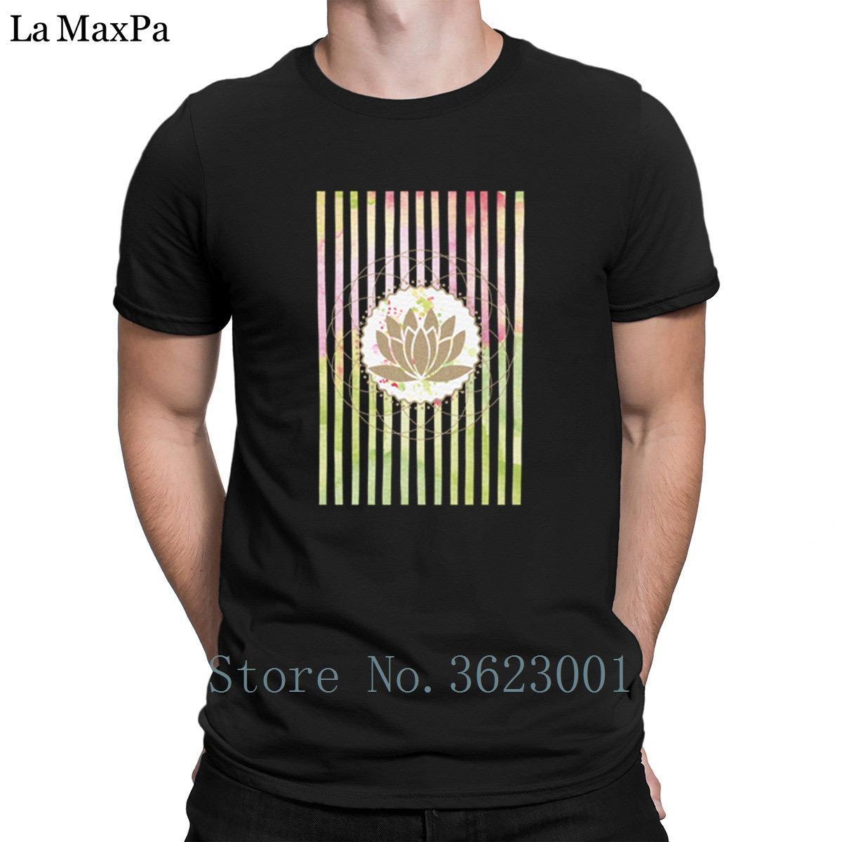 Printing Interesting Mens Tee Shirt Yogas Splash Tshirt Summer
