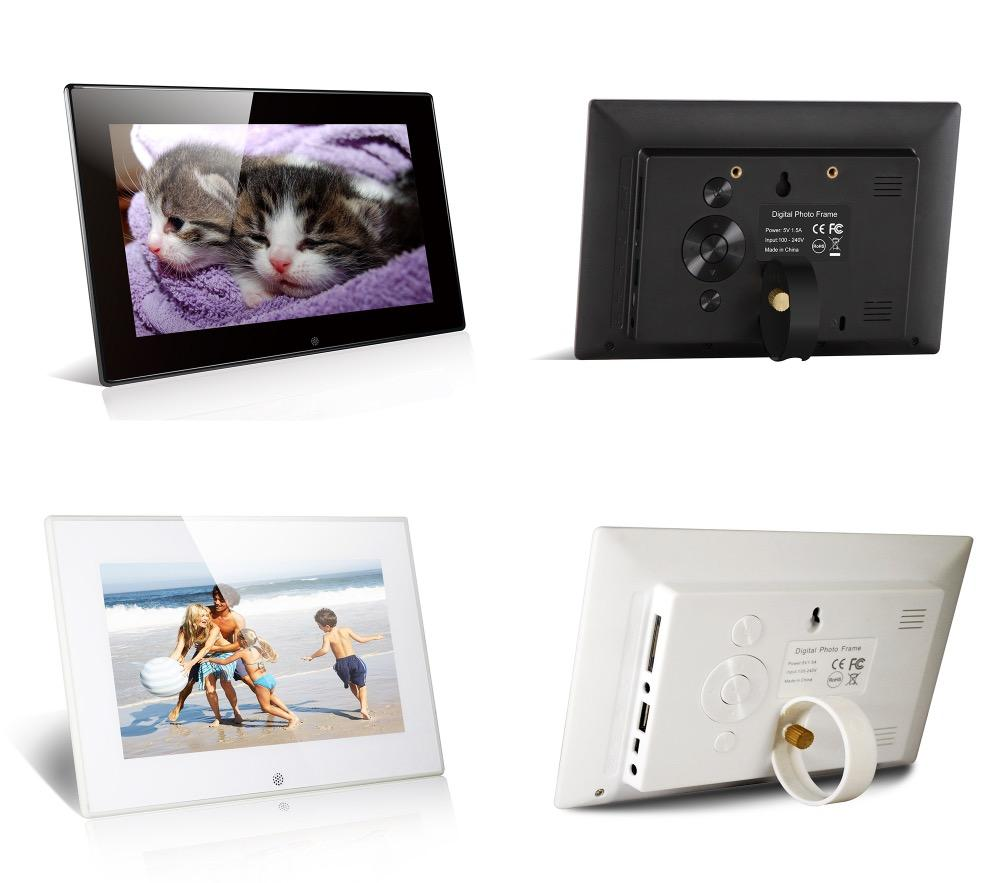 2018 7 Inch Digital Picture Frame Photo Slide Show, Music, Video ...
