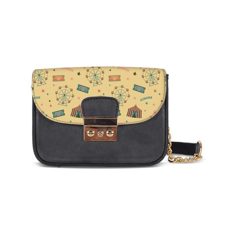 c4f40c63f5 Fashion 3D Design Your Prints Women Leather Messenger Bags Small ...