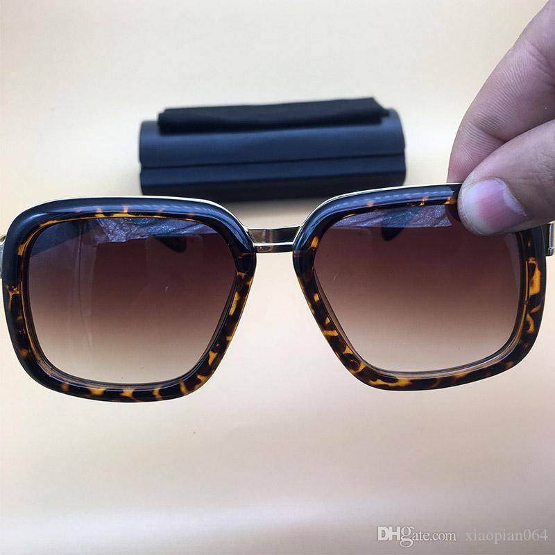 1bb87ce5c4 Compre Gafas De Sol De Diseñador De Revestimiento Gafas De Leopardo  Plateadas Lentes De Lentes De Metal Gafas De Sol De Metal Gafas De Mujer  Para Hombre ...