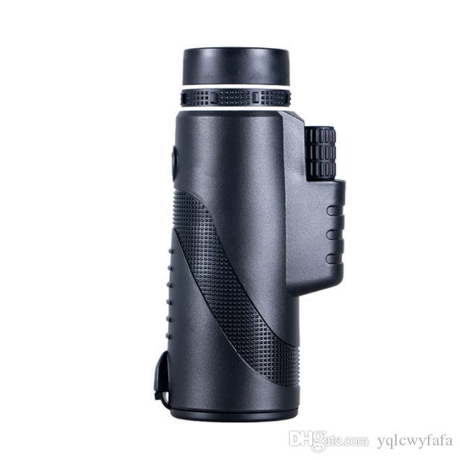 جديد 40X60 زاوية واسعة ، وانخفاض مستوى الضوء للرؤية الليلية ، أحادي العين البصرية