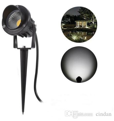LED Landscape Lights Outdoor, Waterproof 10W Decorative Spotlights Lawn  Lamp With Ground Spike Garden Lighting, LED Yard Step LED Landscape Lights  ...