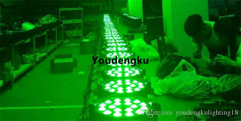 4 Stück LED-Par-Bühnenlicht 18 x 18-Watt-LED-Par-Zoom-Par-LED-RGB-Zoom