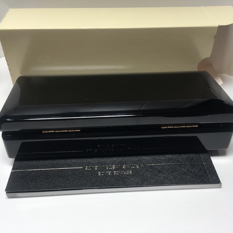 Stylo bille de luxe avec le manuel des papiers, boîte à stylos pour stylo m, boîte à bois