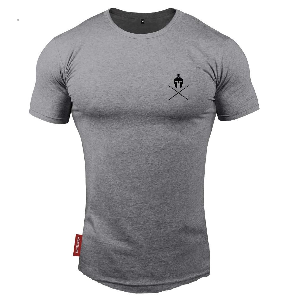 diseño atemporal 9fda4 ac158 2018 Men's Running T-Shirts Men Short Sleeve Elastic Quick Dry Gym Sport  Fitness T-Shirts camisetas running