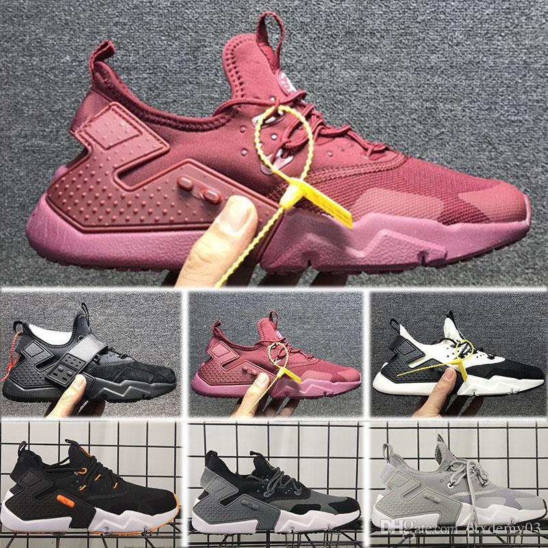 11a9165a2959 2018 New Air Huarache 6 X Acronym City MID Leather High Top Huaraches Mens  Trainers Shoes Men Huraches Hurache Size 40 45 Tennis Shoes Ladies Shoes  From ...