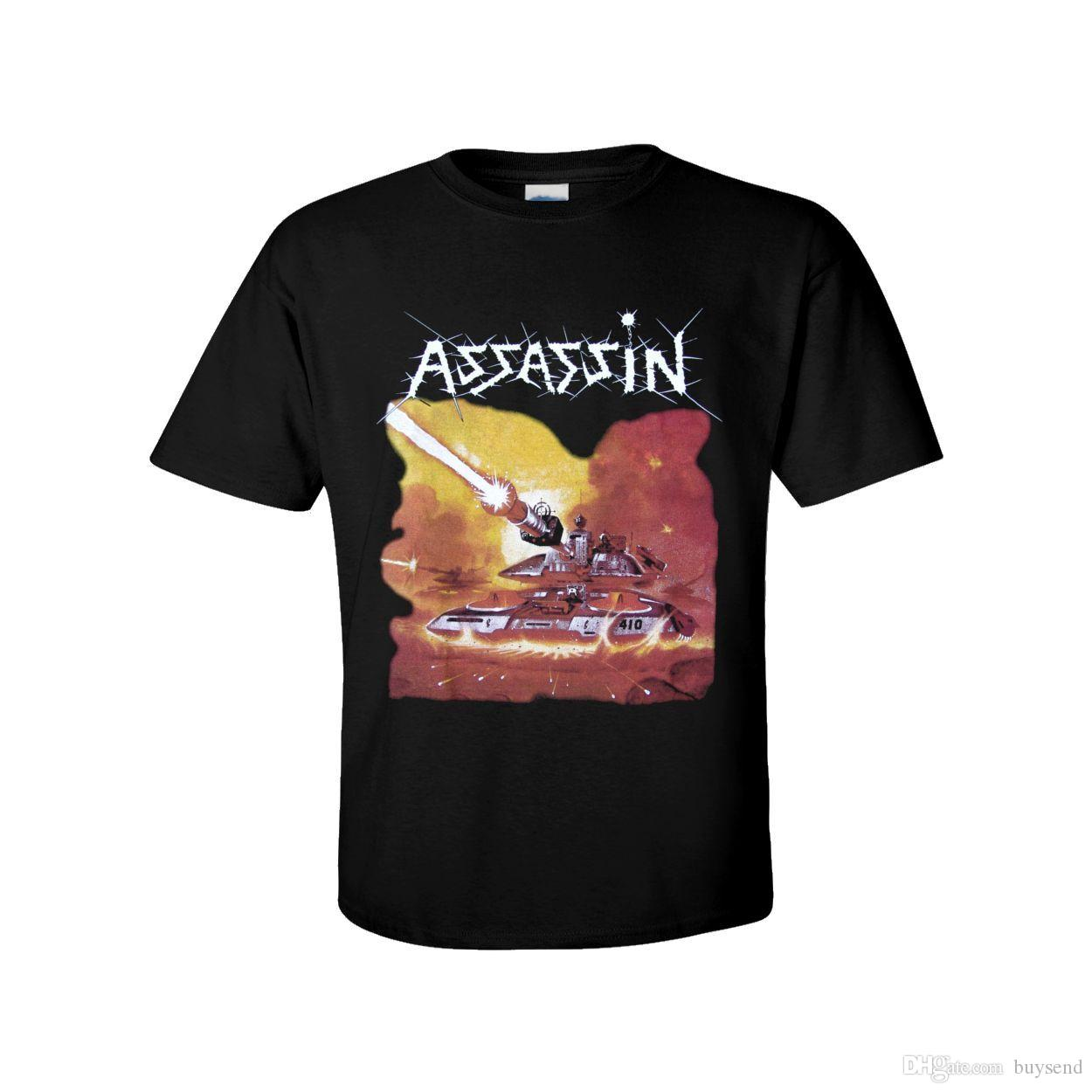 T-shirt officiel ASSASSIN LA TERRE À VENIR - Thrash Metal teutonique