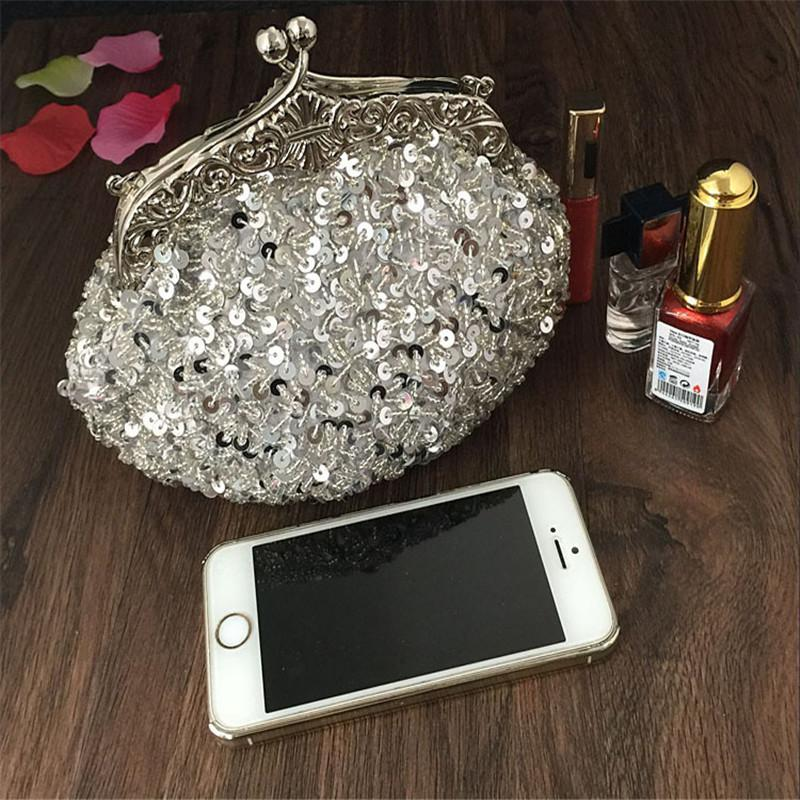 2016 New Arrival Clutch Purse Silver Crystal Evening Bag Women Wedding  Diamantes Party Bridal Handbags Gold Sky Blue WY06 Y18103004 Clutches  Online Body ... 848aae4768217