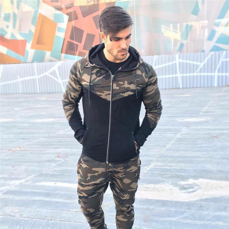 Casual Hip hop Hoodies jacket men-4
