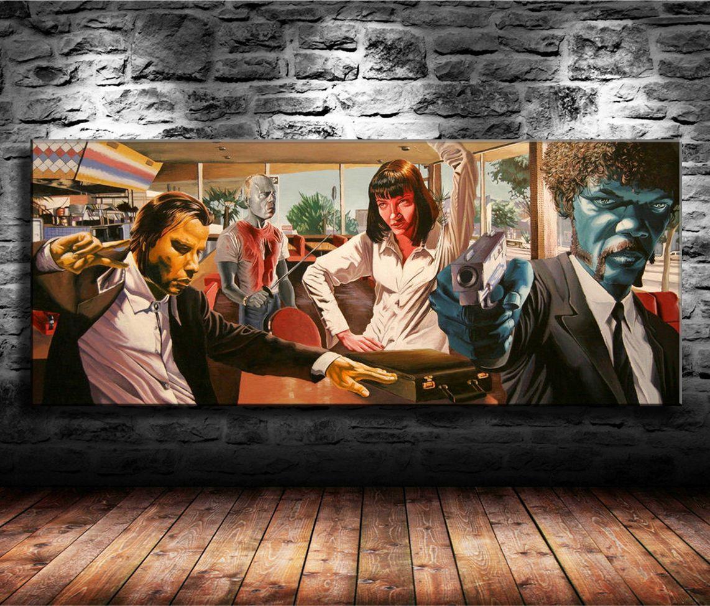 Großhandel Pulp Fiction Wohnkultur Hd Gedruckt Moderne Kunst