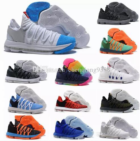 3a178df5232b New Arrival KD 10 X Oreo Bird Of Para Shoes For High Quality Kevin Durant  10s Bounce Airs Cushion Sports Sneakers Size 36 45 Sport Shoes Skechers Shoes  From ...