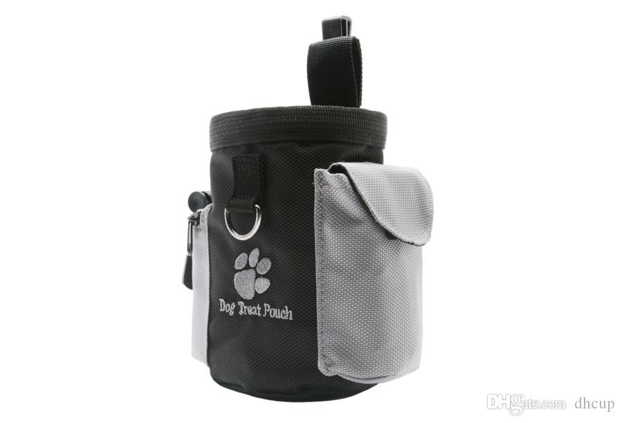 Dog Puppy Training & Obedience Snack Bag Waterproof Obedience Hands Free Agility Bait Food Training Treat Pouch