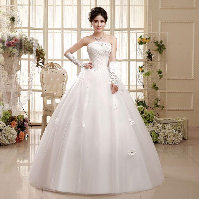 compre 2018 nuevas mujeres vestido de novia coreano la novia y el