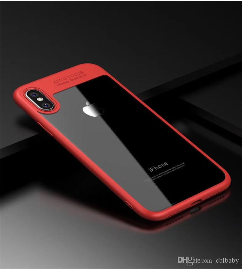 For iPhone 5G 6G 7G 8 Plus iPhone X Phone Case Back Cover Case TPU Clear Shockproof Case Phone Protector
