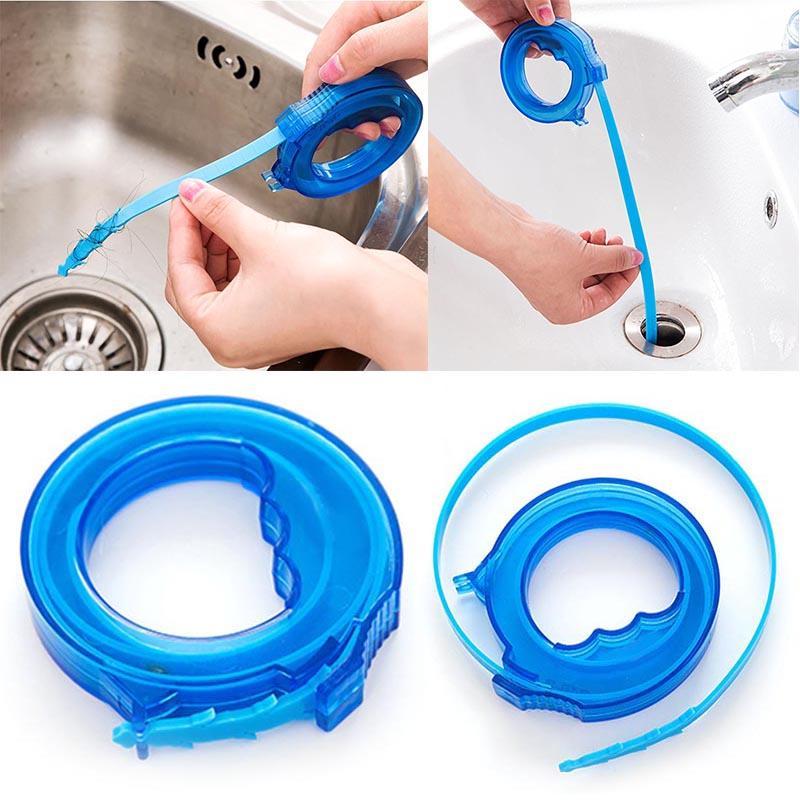 2018 Kitchen Snake Sink Tub Pine Drain Cleaner Bathroom Shower ...