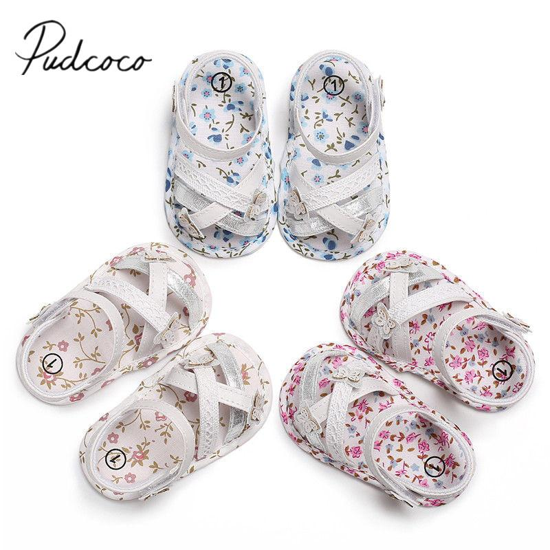 d6028da9b New Butterfly Casual Toddler Bow Baby Sandal Cute Shoes Cotton Summer  Floral Lace 2018 Brand 0 18M Girls Shoes Hook Print Floral Baby Kids Shoes  Buy Kid ...
