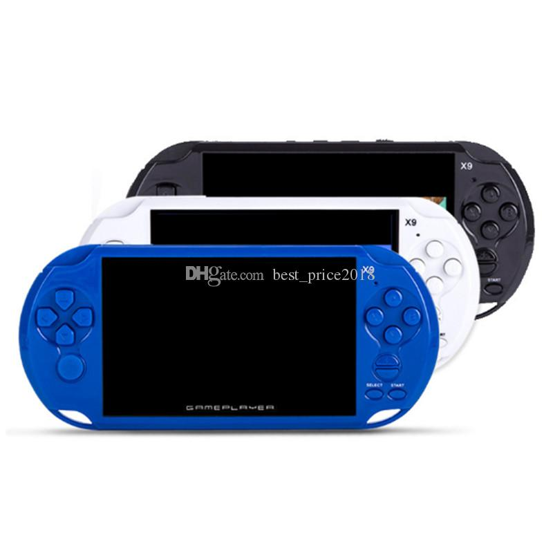 2019 8GB X9 Handheld Video Game Console 5 Inch Screen Consoles Support TV  Output With MP4 Movie Camera Support For GBA GBS Arcade Games From  Best price2018 2cbb9aa34