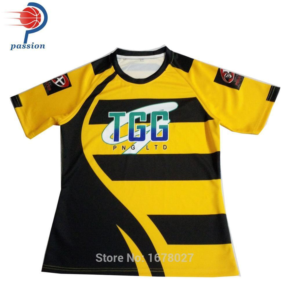 7b5551076b0 2019 OEM Sublimation Colorful Custom Cheap Rugby Jersey Uniform From  Yangmeijune, $191.74 | DHgate.Com