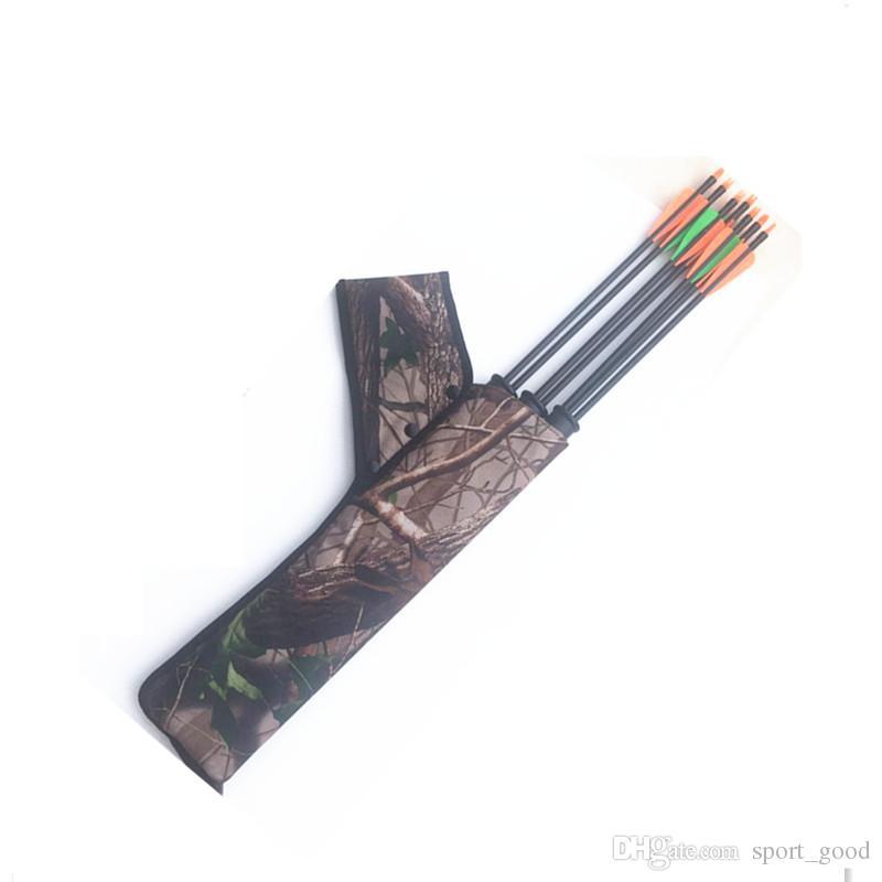 Nuova borsa caccia mimetica all'aperto tiro con l'arco arco Arrow Holder Pacchetto Tiro con l'arco Quiver Bag Bow Arrow Borse in vendita