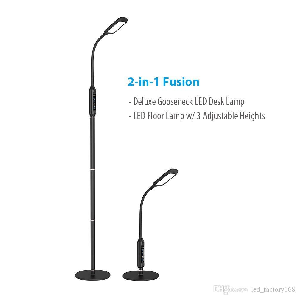 2018 floor lamps dimmable led reading lamp for living room 1000 2018 floor lamps dimmable led reading lamp for living room 1000 lumens 25000 hours lifespan standing lamp desk lamp two in one flexible goosene from aloadofball Images